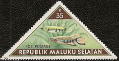 PaÍs: Molucas del Sur; Tïtulo: Peces; Año: 1953