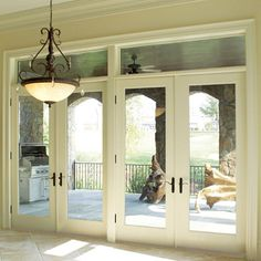 french doors to the patio please.