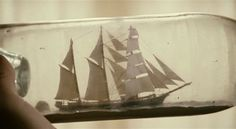 Ship in a magic bottle