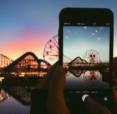 iphone, photography, and sunset -kuva