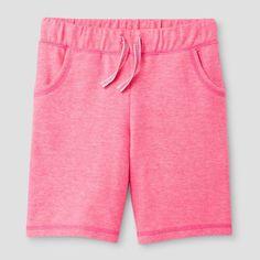 Girls' Bermuda Shorts Cat & Jack - Pink XL, Bali Pink
