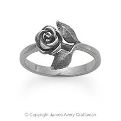 Small Rose Ring from James Avery