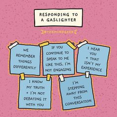 """What is gaslighting? """"It's a technique used to manipulate and distort,"""" says a psychotherpist. Here's how to stop a gaslighter mid-sentence. Mental And Emotional Health, Mental Health Matters, Emotional Abuse, Emotional Intelligence, Mental Health Awareness, Emotional Healing, What Is Gaslighting, Gaslighting Signs, Codependency"""