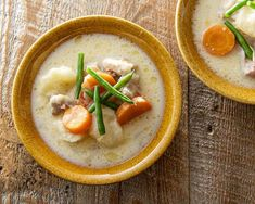 Cheeseburger Chowder, Thai Red Curry, Soup, Ethnic Recipes, Food, Soups