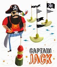 Originales Toppers para Fiesta de Piratas.                                                                                                                                                                                 Más