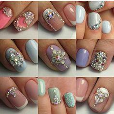 @katrin_nails_tomsk идеи для инкрустации #ногти #ногтитомск #ногтинск #ногтимск #ногтиспб #гельлак #маникюр #nailart #nail #nails #nogti #manicure #красота #юмор #красивыйманикюр #идеидляманикюра #ideafornails #френч #shellac #gelcolor #gelpolish #дизайн #дизайнногтей #росписьногтей