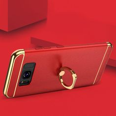 Floveme has designed this stylish, luxury metal case for the iPhone and Galaxy S8. The iPhone case comes with a logo window to show the Apple logo. This case features a metal ring grip which rotates 360 degrees so you can use your phone one handed without fear of dropping it, and it also doubles as a kick-stand. A 3-in-1 innovate case with top and bottom removable parts. Compatible with iPhone 6, 6 Plus, 6S, 6S Plus, 7, 7 Plus, 8, 8 Plus, Samsung Galaxy S8, S8 Plus. £9.99 with Free Shipping!