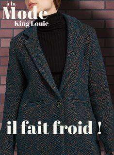 762d509b3c6 Manteau ample Lotte CARNEGIE - Coloris Dragonfly King Louie