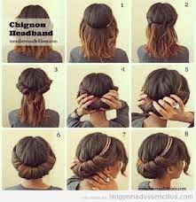 Mejores 11 Imagenes De Peinados Faciles En Pinterest Easy Hair - Peinados-para-hacer-en-casa