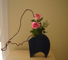 kiwi vine and rose | Ligia Miranda | Flickr