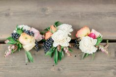 #Boutonniere | #SMP Weddings | Laura Murray Photography | See More: http://www.stylemepretty.com/colorado-weddings/denver/2013/12/05/colorado-wedding-from-laura-murray-photography-chairished-vintage-rentals/