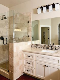 Transitional Bathrooms from Kerrie Kelly on HGTV