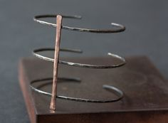 Cage Cuff Bracelet by LexLuxe on Etsy, $148.00
