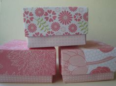 Mini Party Favor / Gift box - set of 3 paper origami boxes on Etsy, $5.86 AUD