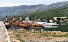 whiskey class submarines - submarines, class, mountain, whiskey