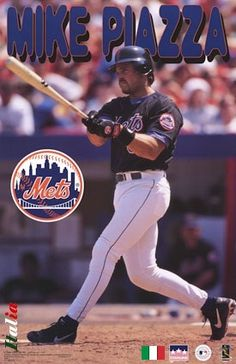 Baseball & Softball Fanartikel Offen New York Mets Mike Piazza Trikot Revers Pin-classic Collectible-the Pizza Man