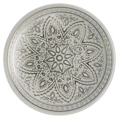 Divine Charger Plate in Silver
