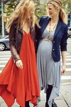"""The New """"Maternity"""" Line You'll Want To Wear Before, During, And Afterward  #refinery29  http://www.refinery29.com/fashionable-maternity-clothing-hatch#slide-13  The Dinner Party Dress Photo: Via Hatch"""