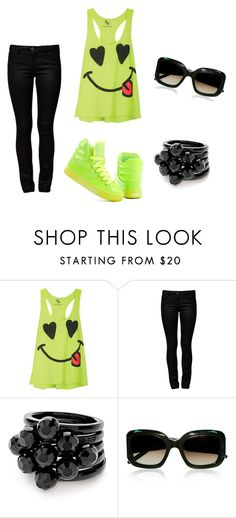 """""""smile:)"""" by karina-bm ❤ liked on Polyvore featuring ONLY, Folli Follie and Marni"""