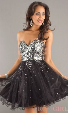 Short Gold Party Dress by Night Moves 6498 - promgirl.com