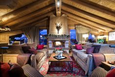 Luxury chalet for vacation rentals in COURCHEVEL 1850 – prestigious properties for seasonal rentals John Taylor
