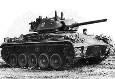 M-24 Chaffee - pin by Paolo Marzioli