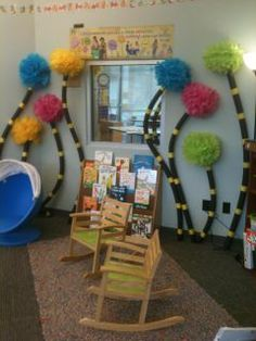 Reading Center On Pinterest Classroom Libraries Reading