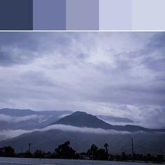《Morning Mist Palette》