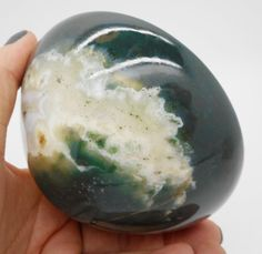 Bloodstone Chalcedony Hand Carved Bowl Gem Stone 98 MM Large Size From India