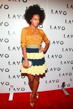 A Week in the Style of Solange Knowles | Grazia Fashion. Black Women. Style. Fashion.
