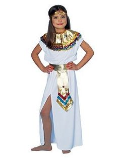 Cleopatra Costume for Child  sc 1 st  Pinterest : homemade egyptian costumes  - Germanpascual.Com