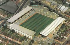 Aerial view of Highfield Road in the Coventry City Fc, Ford Anglia, Football Stadiums, Take Me Home, Aerial View, Blues, England, Sky, Mansions