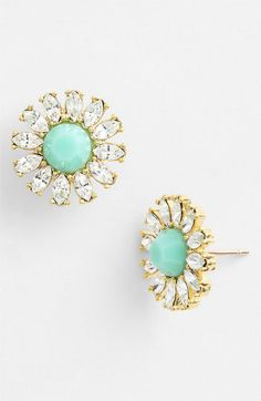 kate spade new york estate garden stud earrings | Nordstrom