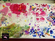 Friendship Art Collage from Mom to 2 Posh Lil Divas: Friendship Week in Preschool
