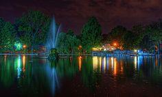 Cișmigiu lake Capital Of Romania, Palace Of The Parliament, Beautiful Park, Bucharest, Eastern Europe, Botanical Gardens, River, World