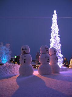 Santa's Village Arctic Circle - Pajakylän valaistus Rovaniemi | Flickr - Photo Sharing! http://www.santaclausvillage.info/