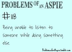 problems of an aspie - Google Search