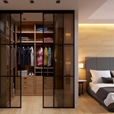 Interiors - Best Interior Designers in Delhi - Top Interior Designers Wardrobe Room, Wardrobe Design Bedroom, Girl Bedroom Designs, Closet Bedroom, Dream Home Design, Home Interior Design, House Design, Modern Tv Cabinet, Hotel Room Design