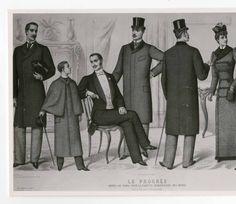 Men 1890-1900, Plate 065 :: Costume Institute Fashion Plates