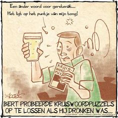 Gerstenat, het vocht wat de man aanzet tot het drinken van bier.