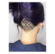 Diamonds & Triangles Cut By @erikadawnshear Model @cjkim00 #UCFeed #BuzzCutFeed #Undercut #Undercuts #ShavedNape #NapeShave #UndercutNation #UndercutDesign