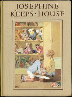 ''JOSEPHINE KEEPS HOUSE''. H. C. Cradock. Honor Appleton, illustrator | eBay