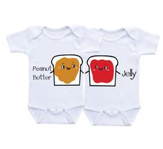 Twin baby gifts for baby girl and/or baby boy twins twin outfits Matching Twin Onesies,twin baby shirts,twin baby clothes,twin bodysuits by DAIICHIBANdesigns on Etsy https://www.etsy.com/listing/257746964/twin-baby-gifts-for-baby-girl-andor-baby