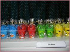 Fotos de Vasitos Golosineros De Angry Birds, Souvenirs cumpleaños ...