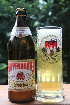 Huppendorfer Zwickel der Brauerei Grasser. Legga!