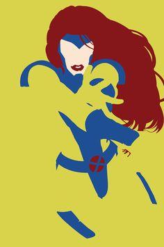 X-Men - Jean Grey Art Print