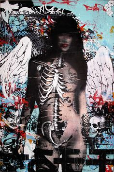 HUSH, graffitti artist & painter