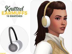 The Sims 4 nords-sims Knitted Earmuffs Maxis, Sims 4 Cc Packs, Sims 4 Mm Cc, Sims 4 Cas, My Sims, Los Sims 4 Mods, Cc Hats, Pelo Sims, S Videos