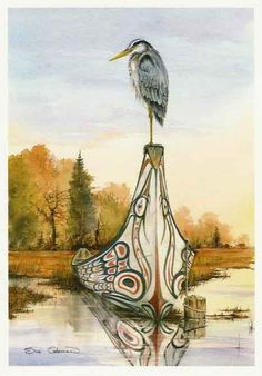 My Totem: The Great Blue Heron