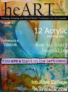 HeART Journal Magazine  Android App - playslack.com , Download one FREE special issue now! This is a free app with in app purchases for individual magazines or a yearly subscription. Published six times a year. Pricing listed belowEach heART Journal issue is packed with ideas & inspiration to get you creating in your own art journals. You will be discovering and mastering your favorite techniques in no time. interactive elements,Featuring: How to Videos Hints & Tips from the Art…